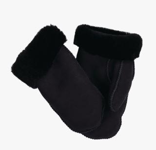 Wooly ullvantar svart