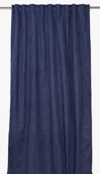 Blackout gardin marinblå