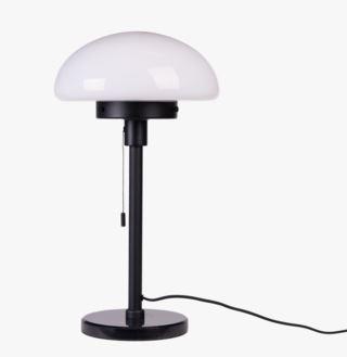 Bellamy black bordslampa svart