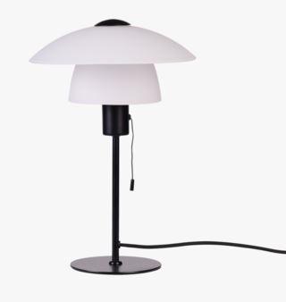 Isabella bordslampa svart