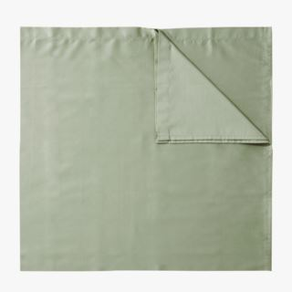 Soft Satin underlakan lindblomsgrön